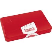 Carter's Foam Stamp Pad, 4.25 in. x 2.75 in., Red
