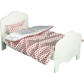 Teamson Kids Little Princess Bed with two sets of Bedding