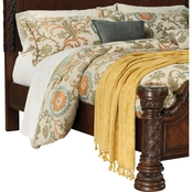 Ashley North Shore Bedroom Collection King Poster Rails
