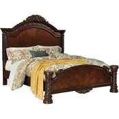 Ashley North Shore King Panel Bed