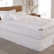Blue Ridge 233 Thread Count Cotton Top Fiber Mattress Pad