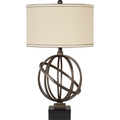 Signature Design by Ashley Shadell Metal Table Lamp