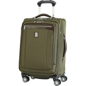 Travelpro Platinum Magna 2 20 In. Expandable Business Plus Spinner, Olive