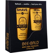 Bee Bald 2 Pc. Shaving Kit