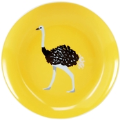 Martha Stewart Collection Whim Dinnerware Collection Ostrich Appetizer Plate