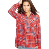 Denim & Supply by Ralph Lauren Plaid Twill Utility Shirt and Plaid Flannel Shirt