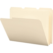 Smead Tear/Moisture-Resist Poly File Folders, 1/3 Cut Top Tab, Letter