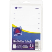 Avery File Folder Labels 252 Pk.