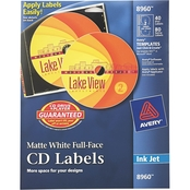 Avery Inkjet Full-Face CD Label 40 Pk.