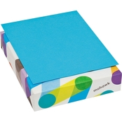 Mohawk BriteHue Multipurpose 24 Lb. 8 1/2 X 11 In. Colored Paper, 500 Sheets Blue