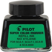 Pilot Jumbo Marker Refill Ink For Permanent Markers, Black Ink