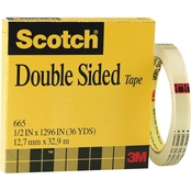Scotch .5 X 1296 In. Double-Sided Tape