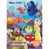 Disney Pixar Adventure Coloring Book (Hardcover)