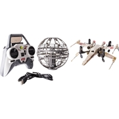 Spin Master Air Hogs Star Wars X-wing vs. Death Star Rebel Assault RC Drones
