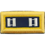 Army CPT Chemical Female Shoulder Straps