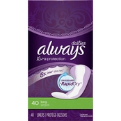 Always Xtra Protection Daily Liners 40 ct.