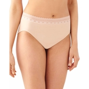 Bali Comfort Revolution Seamless Hi-Cut Briefs