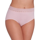 Bali Comfort Revolution Seamless Lace Brief