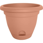 Bloem 10 in. Lucca Planter Taupe