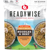 Wise Company Noodles in Mushroom Sauce with Beef Outdoor Camping Meal 6 Pk.