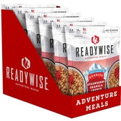 Wise Company Strawberry Granola Crunch Outdoor Camping Meal 6 Pk.