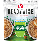 Wise Emergency Food Apple Cinnamon Cereal Outdoor Camping Meal 6 Pk.