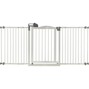 Richell White One Touch Gate II, Wide