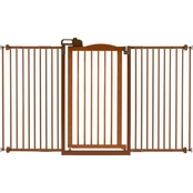 Richell Autumn Matte Tall One Touch Gate II, Wide