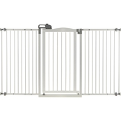 Richell White Tall One Touch Gate II