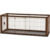 Richell Expandable Pet Crate, Small