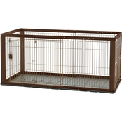 Richell Expandable Pet Crate, Medium