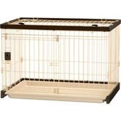 Richell Easy Clean Pet Crate, Small