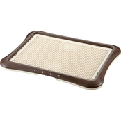 Richell Paw Trax Brown Mesh Training Tray