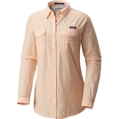 Columbia Super Bonehead II W Plaid Button Up Shirt