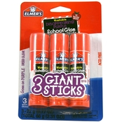 Elmer's Giant School Glue Stick 3 pk.