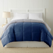 Simply Perfect Down Alternate Reversible Comforter, Blue