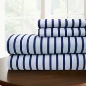Simply Perfect Microfiber Skinny Stripe Sheet Set
