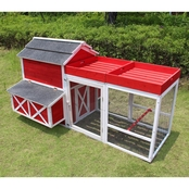 Merry Products Red Barn Chicken Coop