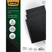 Fellowes Futura Binding System Covers, 11 1/4 in. x 8 3/4 in. Square Corner 25 pk.