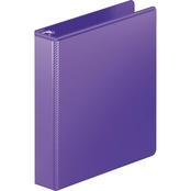 Wilson Jones Heavy Duty D-Ring View Binder with Extra Durable Hinge, Purple