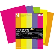 Neenah Paper Astrobrights 8.5 X 11 In. Assorted Colored Paper 500 Pk.