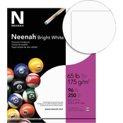 Neenah Paper 8.5 X 11 In. 65 Lb. Bright White Card Stock 250 Pk.