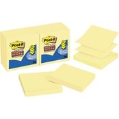 Post-it Super Sticky Pop-up 3 in. x 3 in. 90 Sheet Notes Refill 12 pk.