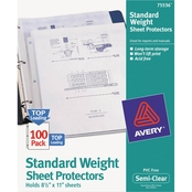 Avery Standard Weight Sheet Protectors 100 Pk.