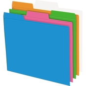 Pendaflex Glow Poly File Folders 12 Pk.
