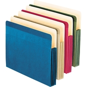 Pendaflex Recycled Paper 4 Color File Pocket 4 Pk.