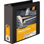 Wilson Jones Heavy Duty D Ring View Binder With Extra-Durable Hinge