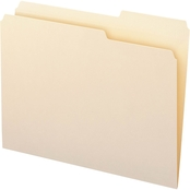 Smead Guide Height File Folders, 2/5 Cut Right Top Tab, Letter Size, 100 pk.
