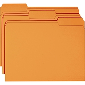 Smead File Folders, 1/3 Cut Top Tab, Letter Size, 100 pk.