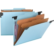 Smead Six Section Hanging Classification Folder